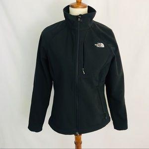The North Face Black Apex Softshell Jacket Med